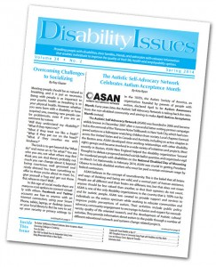 Disability Issues cover page